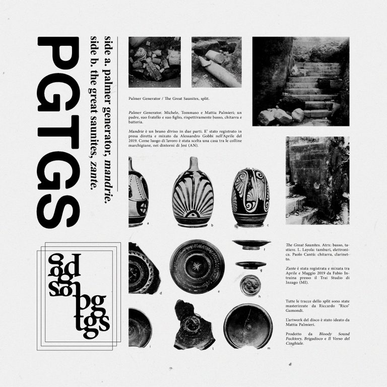 "The Great Saunites e Palmer Generator tornano con lo split album ""PGTGS"""